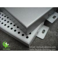 Buy cheap Outdoor Metal Aluminium Cladding Panels For Building Facade , Exterior Wall Cladding Panels from wholesalers
