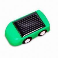 Buy cheap Mini Solar Car, Available in Six Designs and Three Colors, Made of ABS Plastic from wholesalers