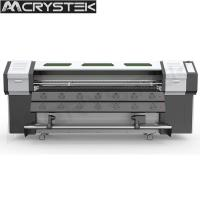 Buy cheap CrysTek CT-R180 roll and flatbed UV printer with Epson dx5 head for glass wood mental printing from wholesalers