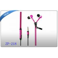 Buy cheap 3C Metal Zipper Earphones Zipper cable with Mic For iPhone 5 4 Samsung S4 S3 HTC product