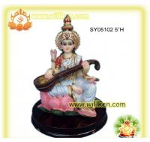 Buy cheap Polyresin Pooja Hindu God Statues-Saraswati from wholesalers