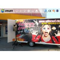 Buy cheap 6 Seats Flexible Mobile 7D Movie Theater With Luxury Motion Chair product