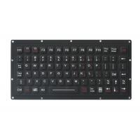 81 keys durable IP65 waterproof military mini silicone ruber keyboard for ruggedized computer