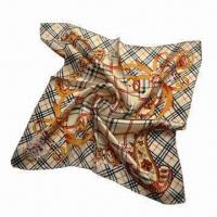 Buy cheap Classical Silk Scarf in Printed Design from wholesalers