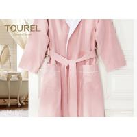 Buy cheap Cotton Waffle Terry Home Hotel Quality Bathrobes Velour Childrens Towelling Bathrobe from wholesalers