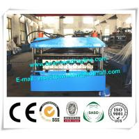 Buy cheap Metal PU Sandwich Panel Production Line Steel Floor Decking Forming Machine from wholesalers