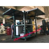 Buy cheap Newly Gas Strut Enclosed Cover Transformer Oil Filtration Plant, oil purifier vacuum oil cleaning system with SIMENS PLC from wholesalers
