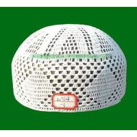 Buy cheap pure cotton boutique crochet cap from wholesalers