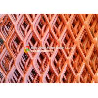 Buy cheap Highway Guardrail Expanding Mesh Sheets , Sports Venues Expanded Wire Mesh Fence product