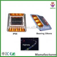 Buy cheap ultra bright aluminium IP68 led solar road stud with CE and RoHS certificates/Cat eye solar road marker from wholesalers