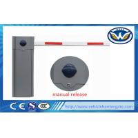 Buy cheap Automatic Parking Vehicle Barrier Gate , Traffic Boom Gate Systems 6s Operation Time from wholesalers