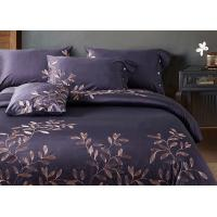 Buy cheap Leaf Pattern Beautiful Bedding Sets 4Pcs , 100 Percent Cotton Bedding Sets from wholesalers
