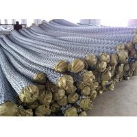 Buy cheap Electro galvanized chain link fence/pvc coated chain link wire mesh from wholesalers