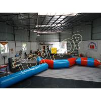 Buy cheap Colorful Inflatable Floating Water Park Dia.5m Water Trampolin With Water Slider from wholesalers