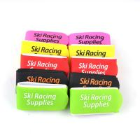Buy cheap EVA / Rubber 100% Nylon Hook Loop Ski Band For Identifying Skis , White from wholesalers