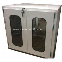 Buy cheap Floor Mounted Double swing Door Clean Room Pass through Box from wholesalers