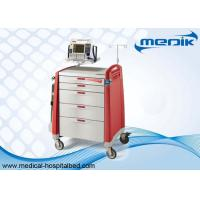 Buy cheap Defibrillator Shelf Emergency Medical Trolleys With CPR Boards Fit Hospitals from wholesalers