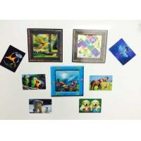 Buy cheap Custom Shaped PP / PET Lenticular 3D Fridge Magnets With Lenticular Printing from wholesalers