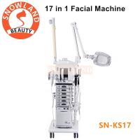 Buy cheap Salon Use 17 In 1 Multifunction Facial Cleansing Brush Manufacturers Skin Care Machine from wholesalers