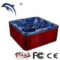 Buy cheap Freestanding Outdoor Whirlpool Tub Adult Whirlpool And Air Massage For Winter Cold Spa from wholesalers