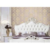 Buy cheap Classical Damask European Style Wallpaper 3D Effect Wall Covering For Bed / Living Room from wholesalers