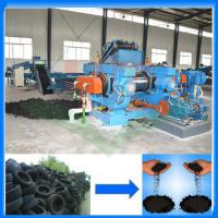 Buy cheap Advanced used tire recycling machine/tyre recycle crumb rubber plant/rubber breaker from wholesalers