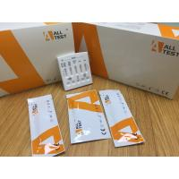 Buy cheap Easy to Use Multi-Drug Rapid Test Cassette To Detect Saliva with CE Certificate from wholesalers