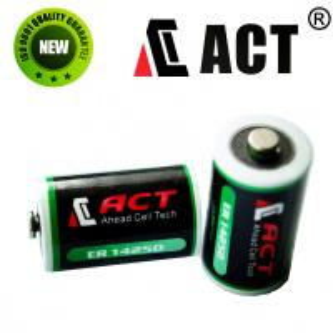 China 3.6v 1/2AA lithium battery ER14250 on sale