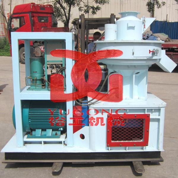Buy cheap CE approved vertical ring die wood pellet machine,wood pellet press machine from wholesalers