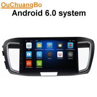 Buy cheap Ouchuangbo car gps multi media stereo android 6.0 for Honda Accord 9 (2.4 High) with MP3 MP4 USB AUX SWC from wholesalers