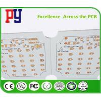 Buy cheap Surface Finish Osp Single Layer PCB Fabrication 22F Fiberglass Board Line Width 0.4mm from wholesalers