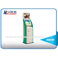 Digital Signage Dual Screen Bill Payment Touch Screen Kiosk Stand 1920 X 1080 Max Resolution