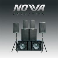 Buy cheap Professional 2 Way Nightclub Speaker Systems 300 Watt For KTV / DJ Stage from wholesalers