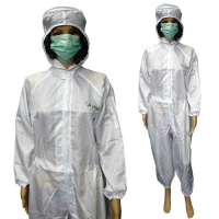 Buy cheap OEM Plus Size Anti Static ESD Workwear With Elastic Wrist from wholesalers