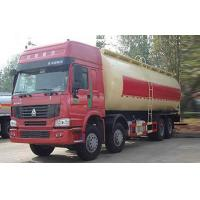 China Bulk Cement Tank Truck / Dry Bulk Trucking Transportation Vehicle 371HP 12 Wheels on sale