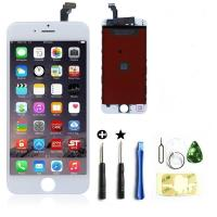Buy cheap 4.7 Inch LCD Touchscreen Iphone 6 Digitizer Frame Assembly Full Set from wholesalers