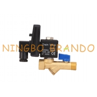 Buy cheap 1/4'' 1/2'' Air Compressor Automatic Drain Valve Jorc Type 120V 230V from wholesalers
