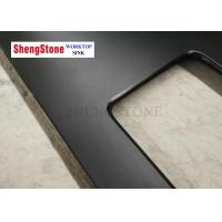 Buy cheap Strong Laboratory Black Epoxy Resin Worktop , epoxy resin benchtop Matt Surface product