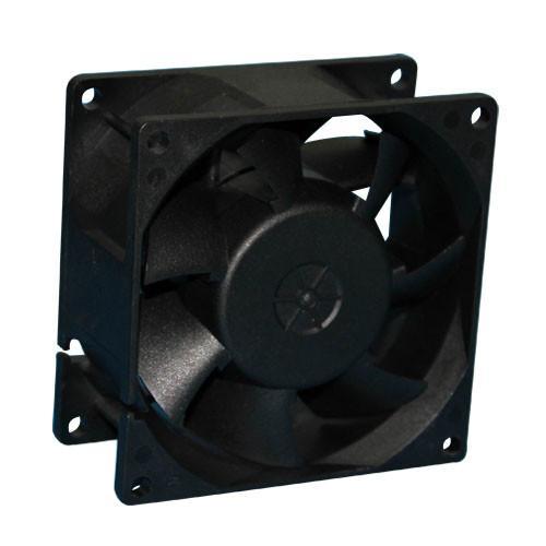 Buy cheap 80 × 80 × 38mm Equipment Cooling Fan / DC Axial Cooler Fan / 48V DC Fan Motor from wholesalers