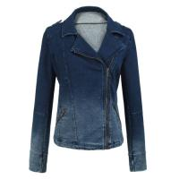 Buy cheap long sleeve ladies tops Warm Womens Jackets outerwear blue jean jacket from wholesalers