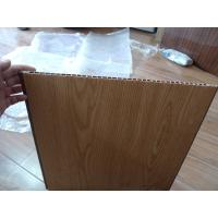 Buy cheap Heat Insulation PVC Wall Panel Wooden Color 40cm x 12mm For Office Decor from wholesalers
