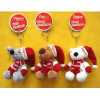 Buy cheap Small Hanging Teddy Bear Pendant Stuffed Keychain Christmas Plush Toys OEM from wholesalers