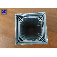 Buy cheap Industrial Aluminum Rectangular Tubing , Round Aluminum Extrusion Profiles For Tatami Lift from wholesalers