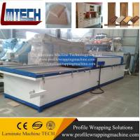 Buy cheap kitchen cabinet door pvc film vacuum membrane press machine from wholesalers