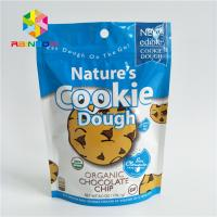 Buy cheap Reusable Stand Up Bags Customized Printing Tear Notches For Cookie from wholesalers