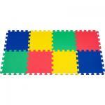 Buy cheap Non-Toxic EVA Foam Mat / Green EVA Puzzle Floor Mat For Bathroom , 10mm Portable PE Mat from wholesalers