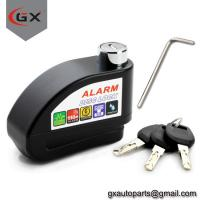 Buy cheap Scooter/Motorcycle Anti-Thieft Alarm Disc Lock Wheel Brake Disc Lock from wholesalers