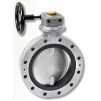 Buy cheap Worm gear double flange butterfly valve from wholesalers