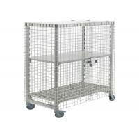 Buy cheap Standard Industries Wire Mesh Storage Lockers , SS Assembled Wire Cage Storage Lockers from wholesalers