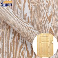 Buy cheap Furniture Embossed Texture Pvc Decorative Film 3d For Membrane Press from wholesalers